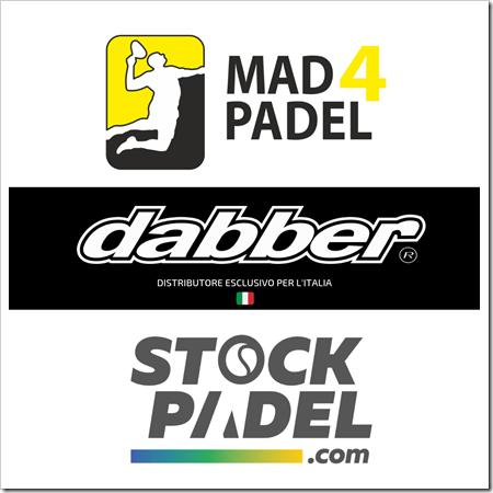 Dabber comienza su expansión por Europa de la mano de ASD MAD 4 PADEL y STOCKPADEL.