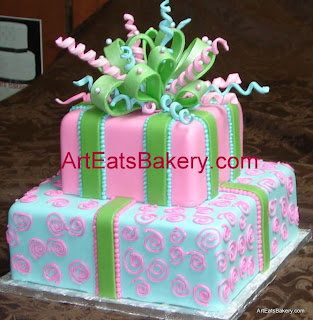 Women and Teens Birthday Bridal Cakes Art Eats Bakery