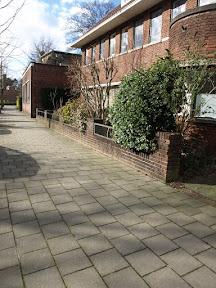Bisschopstraat 14 Stolpersteine voor Samuel (Frits) Woudstra en Hendrik Engbert Jannink.