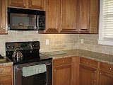 Kitchen Cabinet Granite Backsplash Ideas