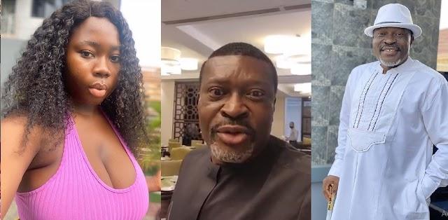 """You Are Beginning To Talk Too Much""— Actress Ujunwa Mandy Tells Her Senior Colleague, Kanayo O. Kanayo [Video]"