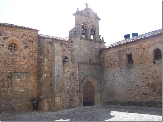 Concatedral de Cáceres. Visitar Cáceres