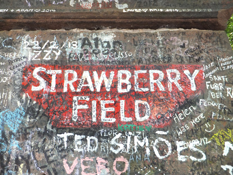 Strawberry Fields, Liverpool, Gran Bretaña, Elisa N, Blog de Viajes, Lifestyle, Travel