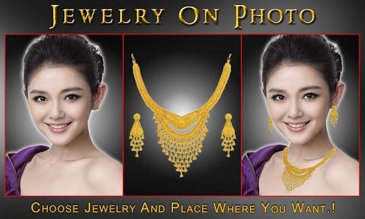 Bridal Jewelry On Photo screenshot