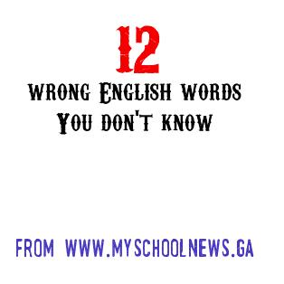 wrong English sentences and their corrections