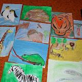 Kresby škôlkarov zo súťaže Animalplanet