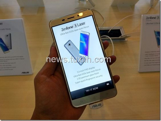 Hands On Asus Zenfone 3 Laser ZC551KL di Zenvolution Indonesia