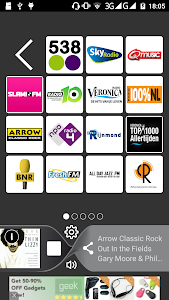 NederlandFM: Online Radio FM screenshot 1