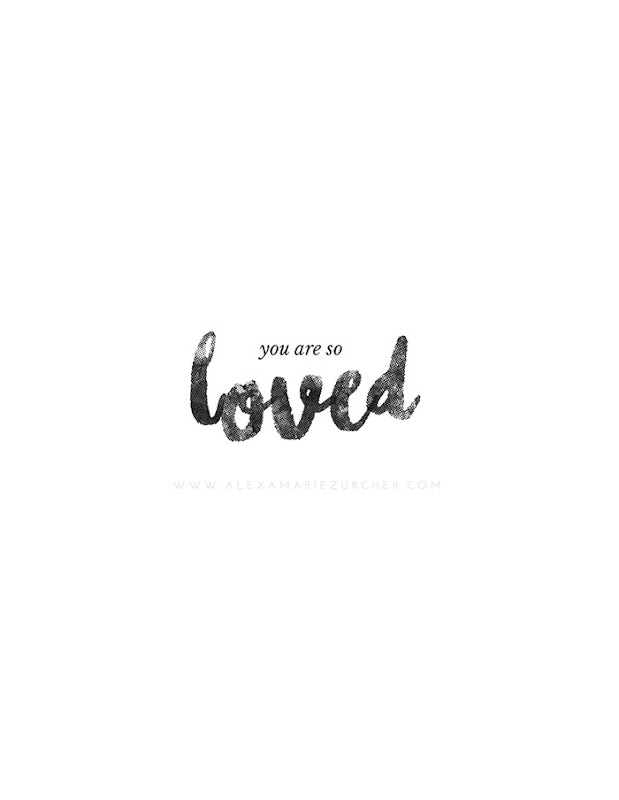 you are so loved free printable and how to pair fonts