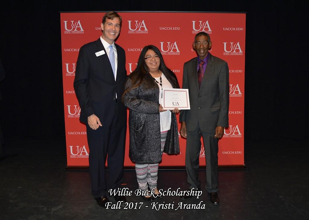 Fall 2017 Foundation Scholarship Ceremony - Willie%2BBuck%2BScholarship.jpg