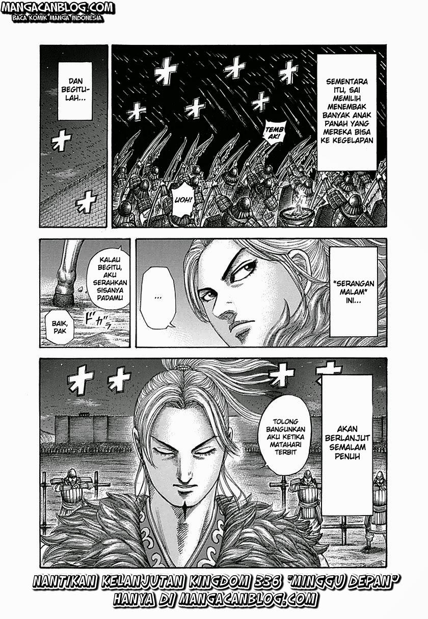 Baca Manga Kingdom Chapter 335 Komik Station
