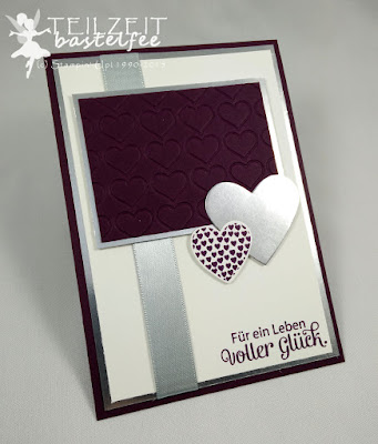 Stampin' Up! - FMS208, Wedding, Hochzeit, Gesegnet, Blessed by God, Hearts a Flutter, Hearts, Herzen