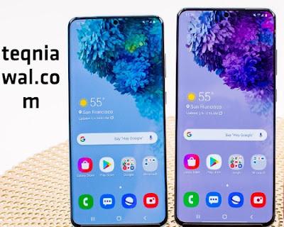 Samsung Galaxy S20 / S20 Plus - افضل هواتف سامسونج 2022