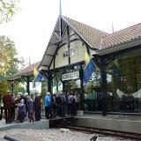 Opening van het gerenoveerde tramhuisje op 28 oktober 2011