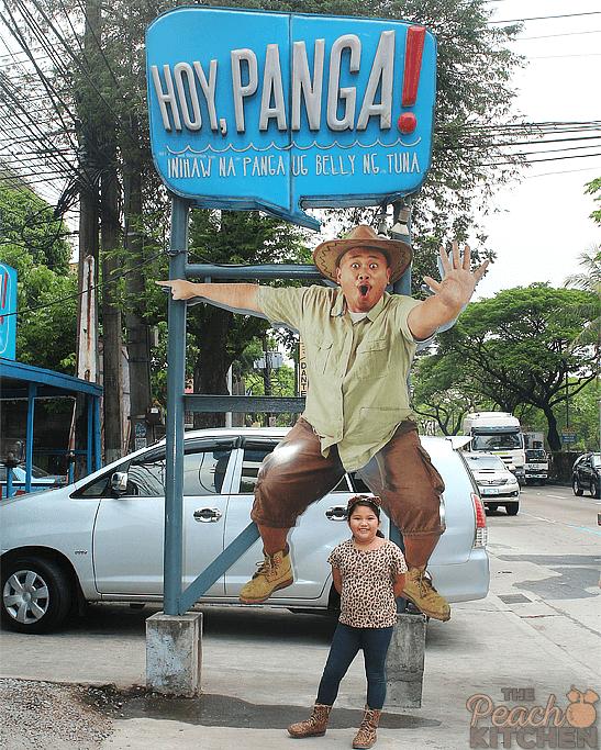 Hoy Panga! in Katipunan
