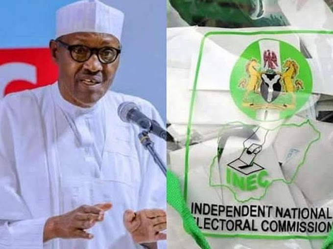 'I Wont Say Anything Until INEC Declares Result'- President Buhari