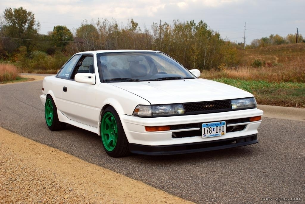 1991 Toyota Corolla Coupe Specifications Pictures Prices