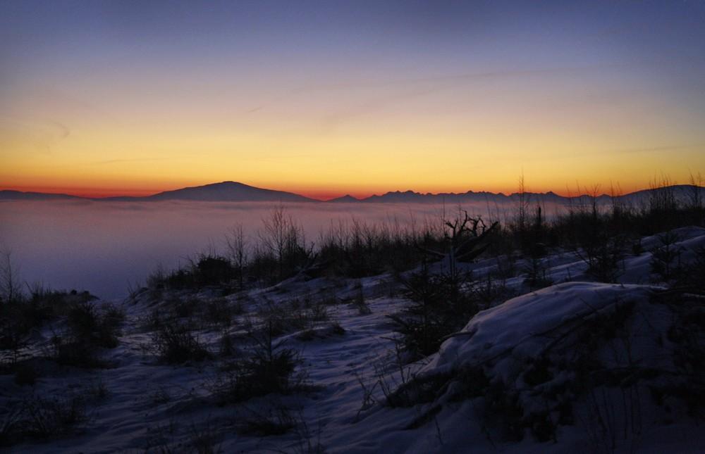 Babia Góra i Tatry