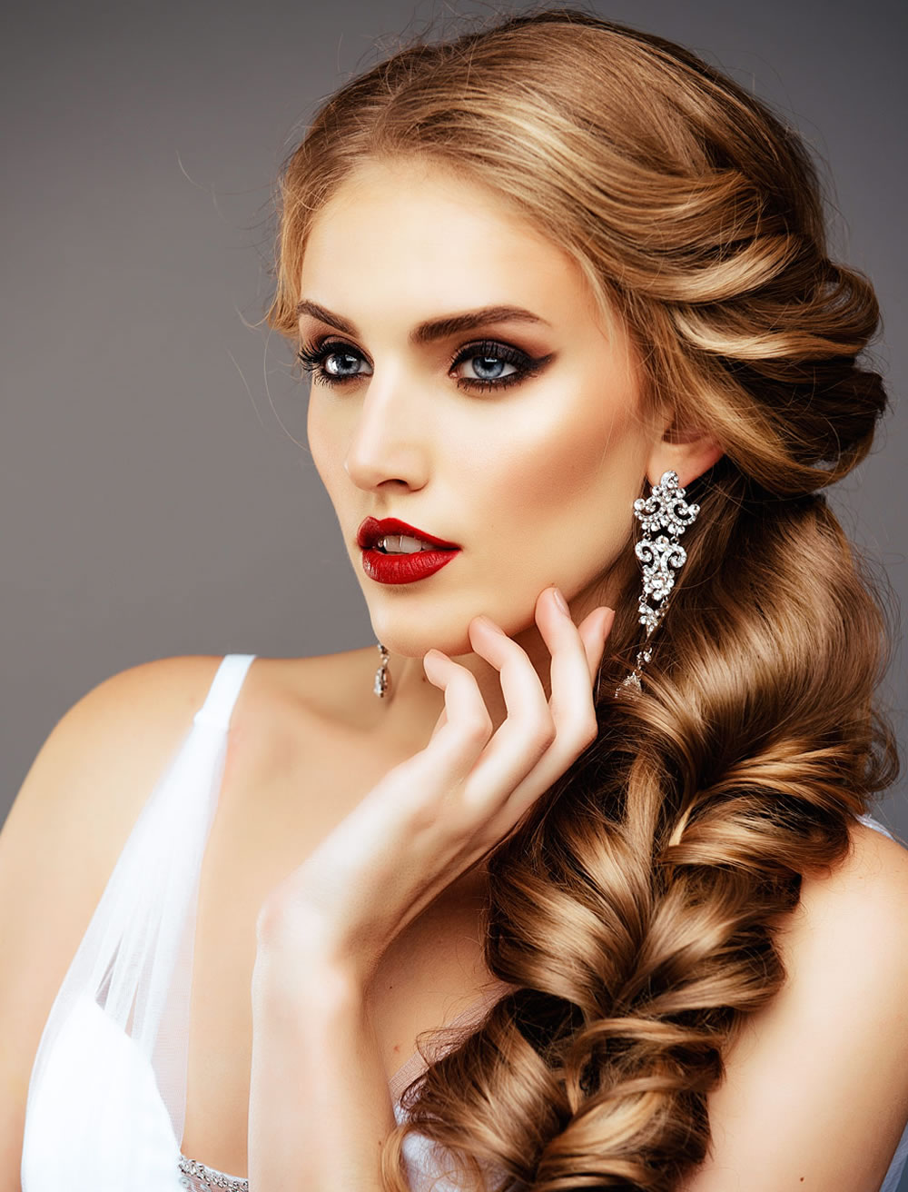 Adorable-bridal hairstyles ideas 2018-2019-will amaze you!