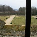 Château d'Ecouen : jardins ouest
