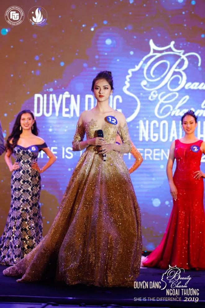 Thí sinh 'Hoa hậu Việt Nam': Là hoa khôi Ngoại thương, thi đại học 29 điểm - ảnh 1