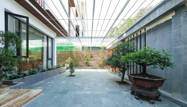 Khám phá biệt thự hiện đại nằm trên sườn đồi tại Thanh Hóa