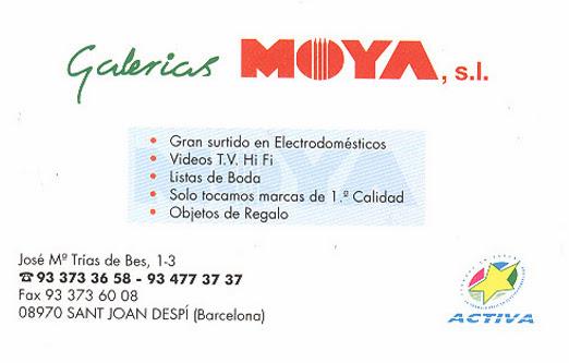 Galerías Moya