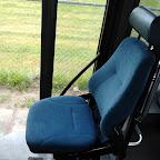 De stoel van de instructeur