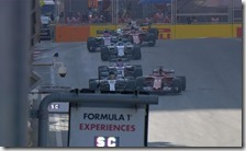 La collisione tra Vettel e Hamilton