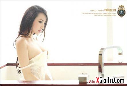 xgiaitri.com nu giao vien khoe than khong kem can lo lo 670419 Ảnh sex một giáo viên Trung Quốc
