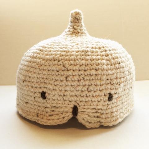 Guild by POD 毛糸ズキ!細編みどうぶつどんぐり帽子の編み図