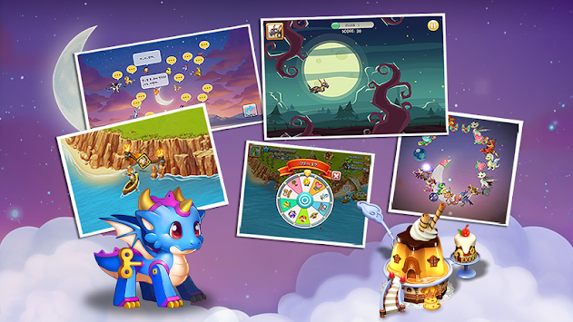 Dragon Friends : Green Witch apk screenshot