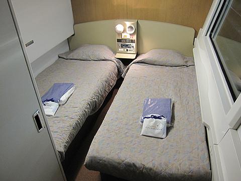 JR寝台特急「カシオペア」 カシオペアスイート(メゾネット) 1階部分