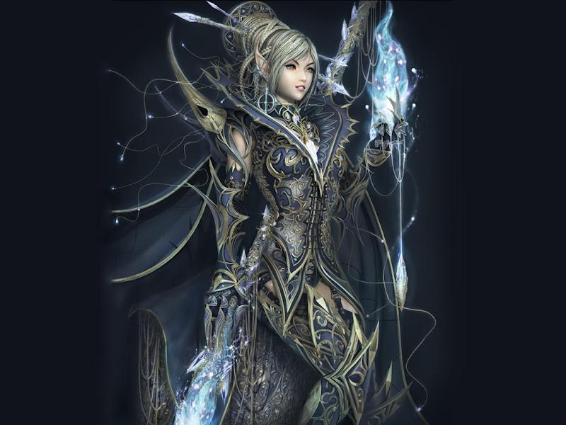 Beauty Elven, Elven Girls