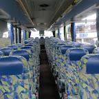het interieur van de Setra van Besseling bus 503