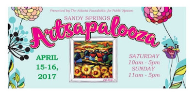 Sandy springs artsapalooza april 2017 georgia top black mom mommy motherhood blogger