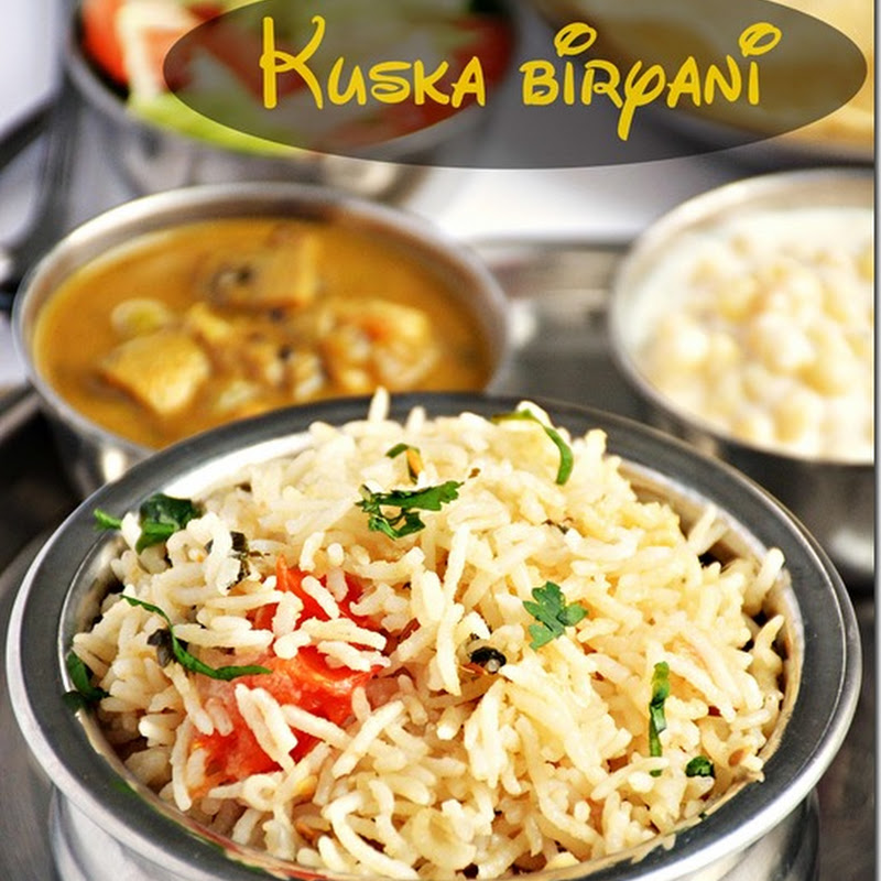 Kuska biryani / Plain biryani / Kuska / How to make kuska