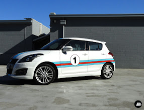 Photo: The Block Apartment 1 | Racing Stripes, Decal Kit. #TheBlock #racingstripes #decalkit