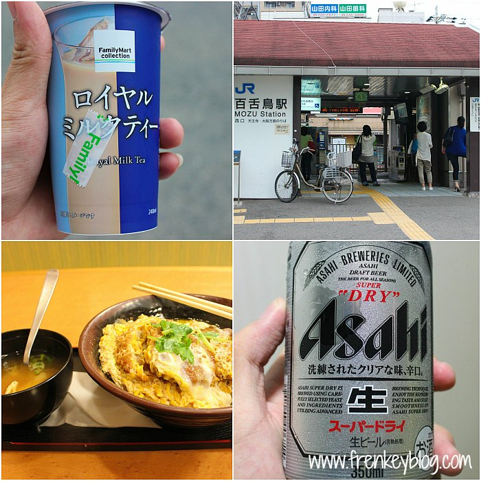 Royal Milk Tea, JR Mozu Station, Dinner Food, Beer Asahi