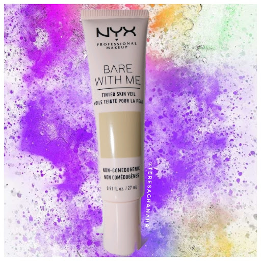 BARE WITH ME  TINTED SKIN VEIL NYX PROFESSIONAL MAKEUP teresagranara