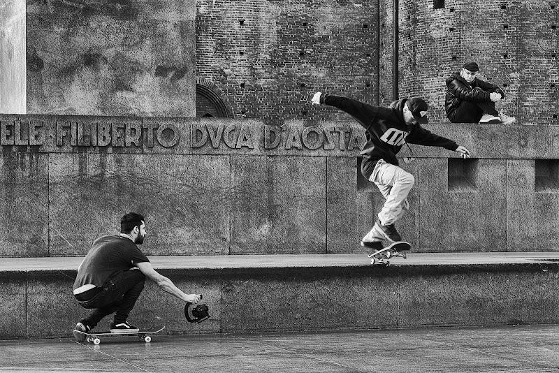 Il cameraman, l'atleta e lo spettatore di Davide_79