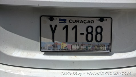 Targa di Willemstad - Curaçao