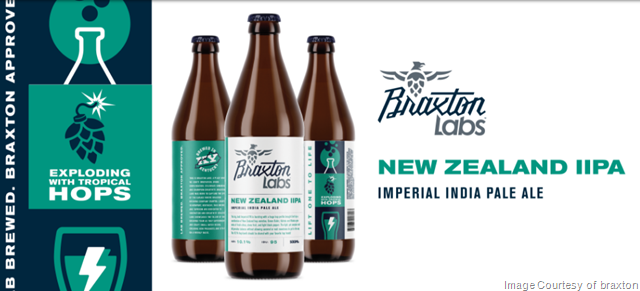 Braxton Labs New Zealand Imperial IPA Bottle Release