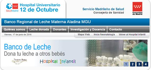 El Banco Regional de Leche Materna ha alimentado a más de 2.500 niños prematuros o enfermos