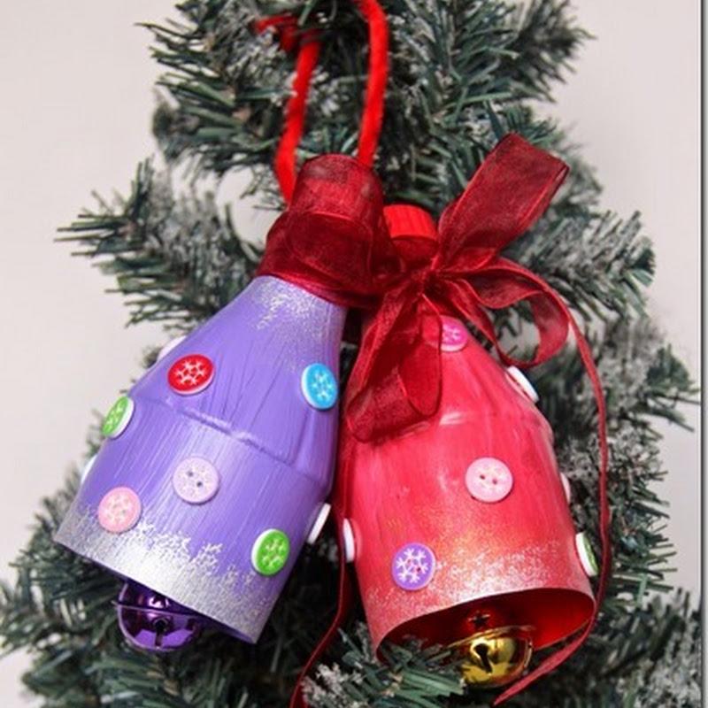 manualidades adornos árbol navidad reciclados