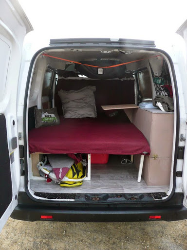 voir le sujet nissan nv200 2011 am nangement simple sport de. Black Bedroom Furniture Sets. Home Design Ideas