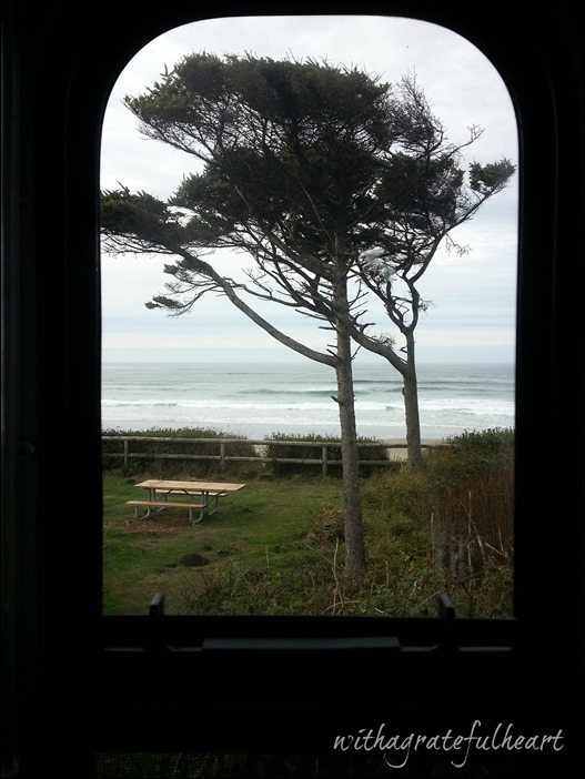 Tillicum Beach - Kitchen Window View
