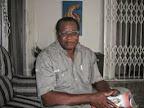 Philippe Masegabio Nzanzu, opérateur politque et écrivain congolais/Ph. Droits Tiers.
