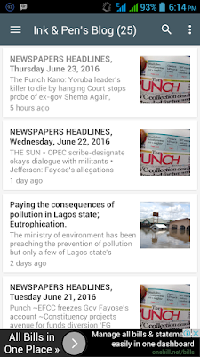 Ink & Pen's blog - Rapport Naija Android App Download