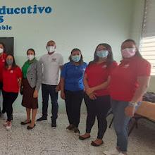 Comisión de la unidad visual del INABIE imparten capacitaciones a maestros del Distrito 01-05